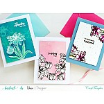 CrafTangles Photopolymer Stamps - You are in my Thoughts