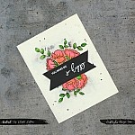 CrafTangles Photopolymer Stamps - Delicate Flowers