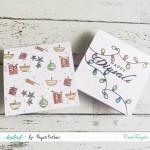 CrafTangles Photopolymer Stamps - Celebrating Diwali Mini