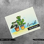CrafTangles Photopolymer Stamps - Friends Forever