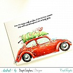 CrafTangles Photopolymer Stamps - Happy Holidays
