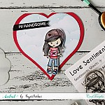 CrafTangles Photopolymer Stamps - Sweet Love