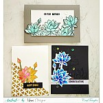 CrafTangles Photopolymer Stamps - Hello Lovely