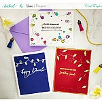 CrafTangles Photopolymer Stamps - Festive Lights