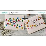 CrafTangles Photopolymer Stamps - Diwali Sentiments