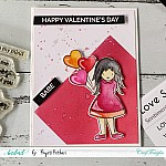 CrafTangles Photopolymer Stamps - Will you be Mine