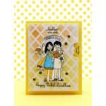 CrafTangles Photopolymer Stamps - Happy Rakshabandhan