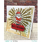 CrafTangles Photopolymer Stamps - Santa Claus