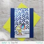 CrafTangles Photopolymer Stamps - Rain or Shine