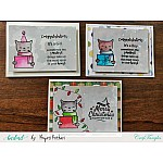 CrafTangles Photopolymer Stamps - Hug Me