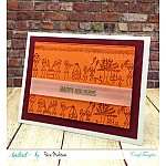 CrafTangles Photopolymer Stamps - Warli Borders