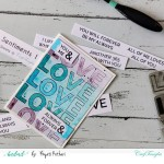CrafTangles Photopolymer Stamps - Love you Loads