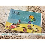 CrafTangles Photopolymer Stamps - By the Sea