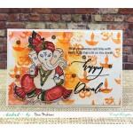 CrafTangles Photopolymer Stamps - Diwali Sentiments