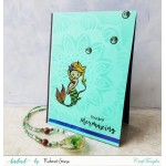 CrafTangles Photopolymer Stamps - Mermaid Kisses