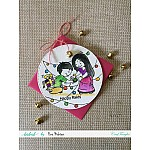 CrafTangles Photopolymer Stamps - Happy Rakhi Bro
