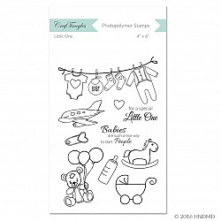 CrafTangles Photopolymer Stamps - Little One