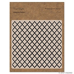 CrafTangles Photopolymer Stamps - Moroccan Pattern