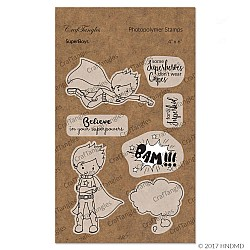 CrafTangles Photopolymer Stamps - SuperBoys