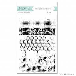 CrafTangles Photopolymer Stamps - Grunge Reloaded