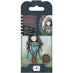 Santoro Gorjuss Mini Rubber Stamp - Forget Me Not