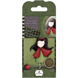 Santoro Gorjuss Mini Rubber Stamp - Little Red