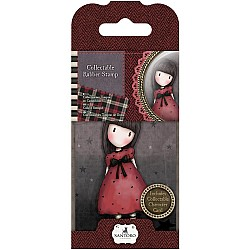 Santoro Gorjuss Mini Rubber Stamp - The Black Star
