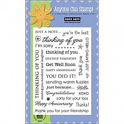 Hero Arts Clear Stamp - Everyday Sayings