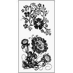 Fiskar Clear Stamps - Country Flowers