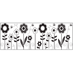 Fiskar Continous Stamps - Flowers