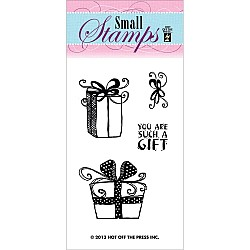 Hot Off The Press Acrylic Stamp -  Gifts