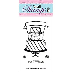 Hot Off The Press Acrylic Stamp -  Cake