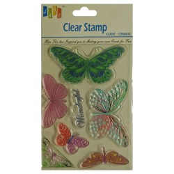 Butterflies Stamp (Large)