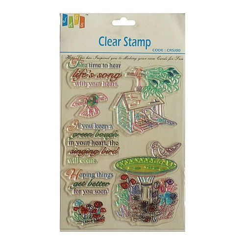 Natures Way Clear Stamp