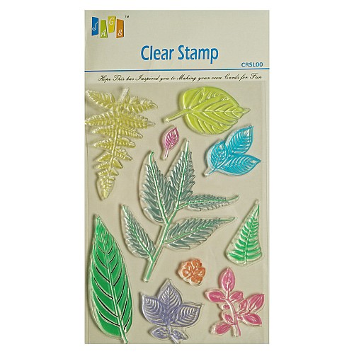 Leaves Clear Stamp (Large)
