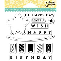 Hampton Art Clear Stamp - Oh Happy Day