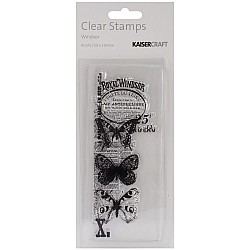 KaiserCraft Texture Clear Stamps - Windsor