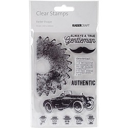 KaiserCraft Clear Stamps - Barber Shoppe