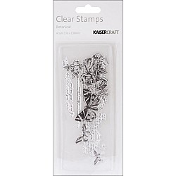 KaiserCraft Texture Clear Stamps - Botanical