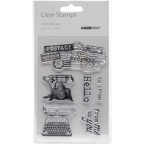 KaiserCraft Clear Stamps - Cherry Tree Lane