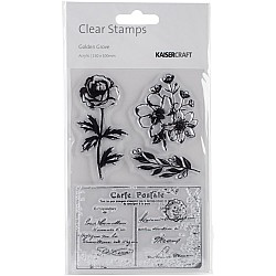 KaiserCraft Clear Stamps - Golden Groove