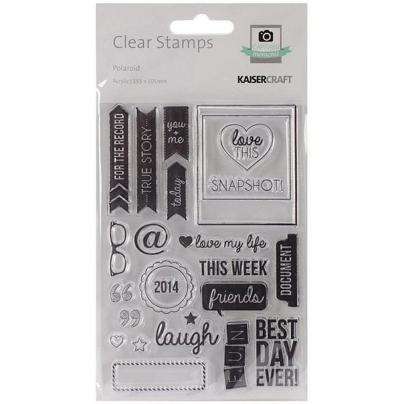 Buy Kaisercraft Clear Stamps Polaroid Online In India At