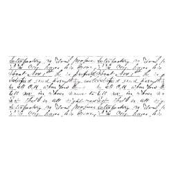 KaiserCraft Texture Clear Stamps - Script