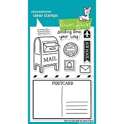 Lawn Fawn Clear Stamp - You've Got Mail