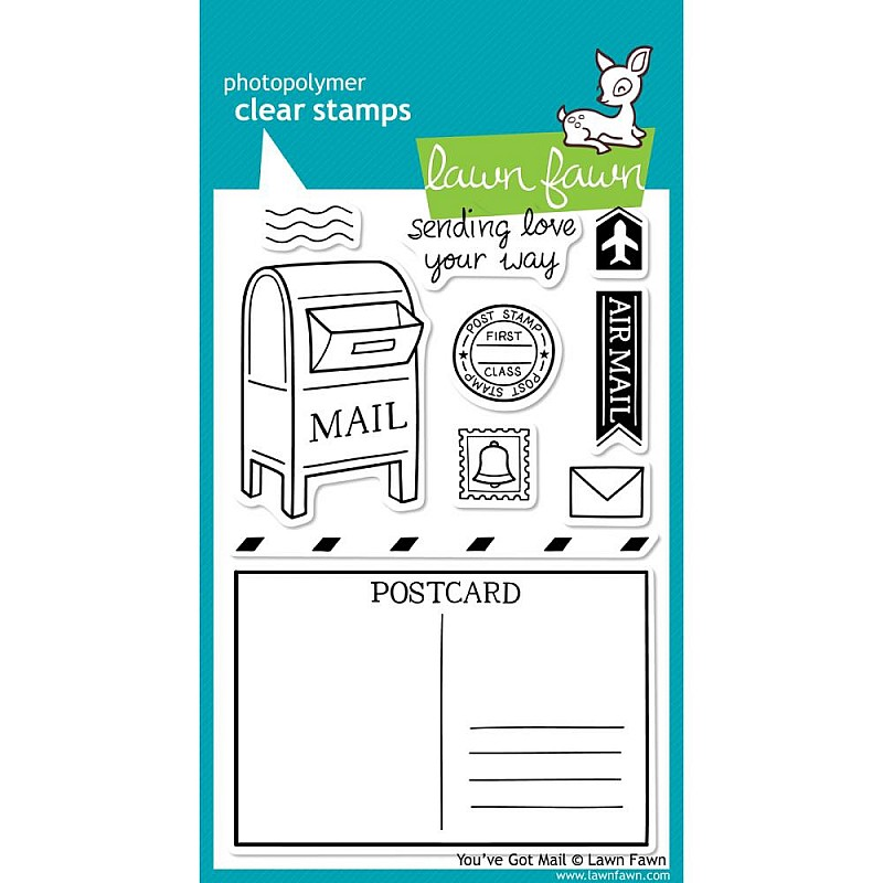 Buy Lawn Fawn Clear Stamp You Ve Got Mail Online In
