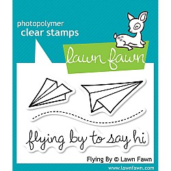 Lawn Fawn Clear Stamp - Flying By