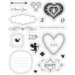 Making Memories Clear Stamp - Love Struck
