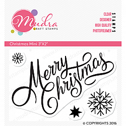 Mudra Craft Stamps - Christmas Mini