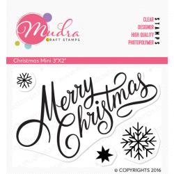 Mudra Craft Stamps - Christmas Mini