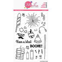 Mudra Craft Stamps - Crazy Crackers